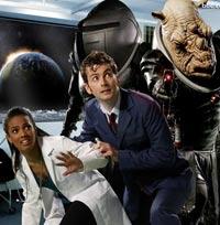 Doctor, Martha, & Judoon