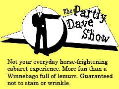Partly Dave Show logo