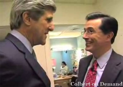 Colbert and Kerry