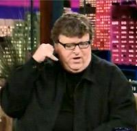 Michael Moore on Leno