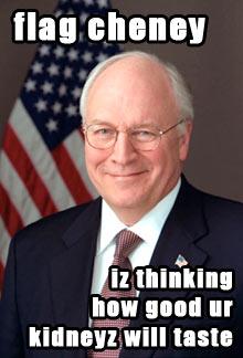 Flag Cheney
