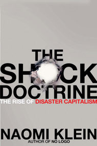 Shock Doctrine US cover