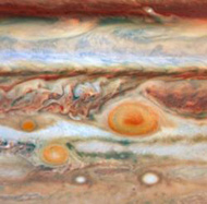 Jupiter spots